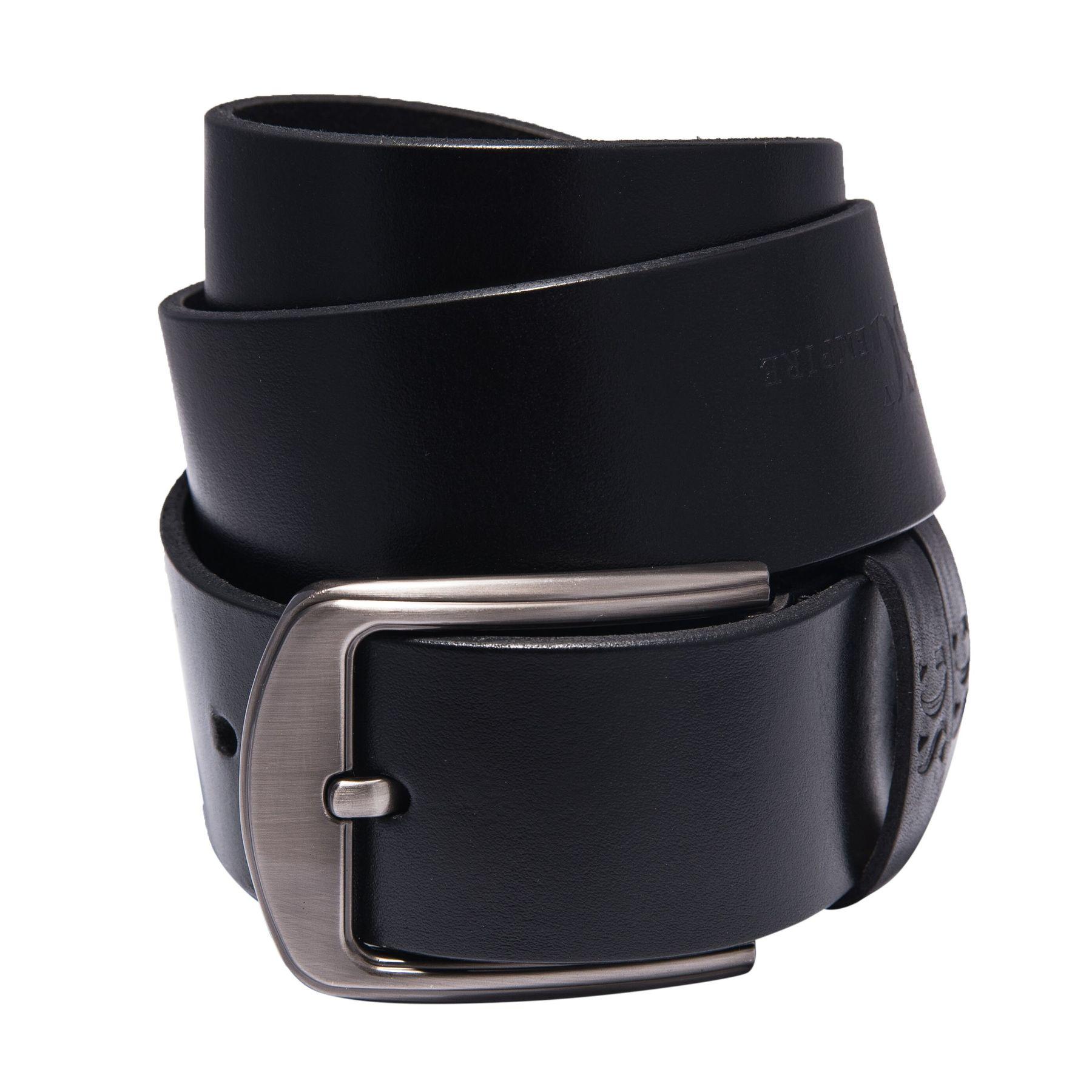 Черный мужской кожаный ремень от бренда SG Empire SGEmpire