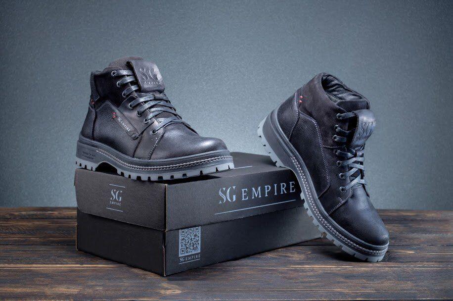 Мужская обувь Dark steel SGEmpire